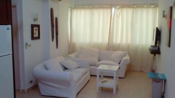 For rent flat with one bedroom in El-Kawther area