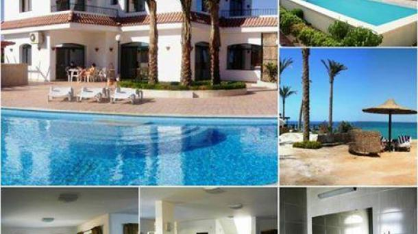 For Rent Villa in ElAhyaa with Private Beach and 2 Swiming pools